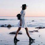 Sunset, Beach, Hat & Memories