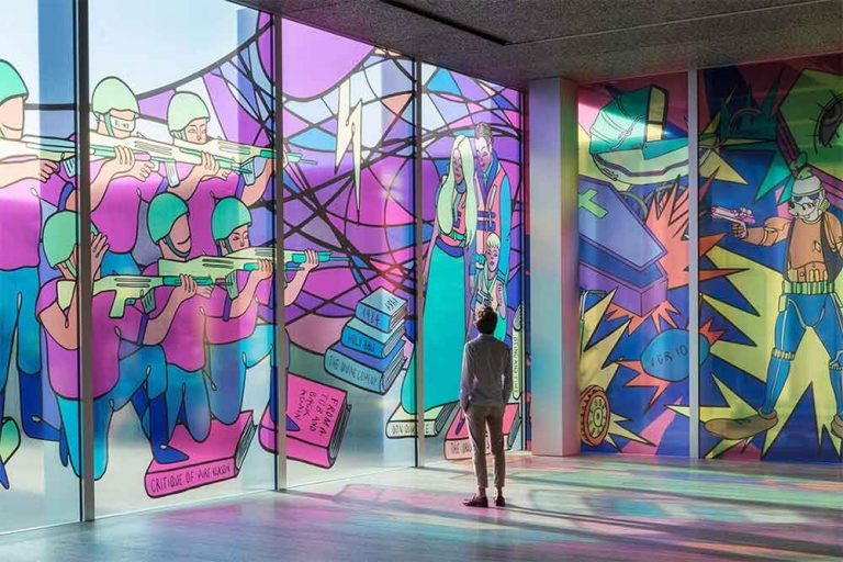Colorful Art Gallery Calls For You