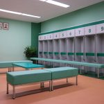 Green Retro Dressing Room